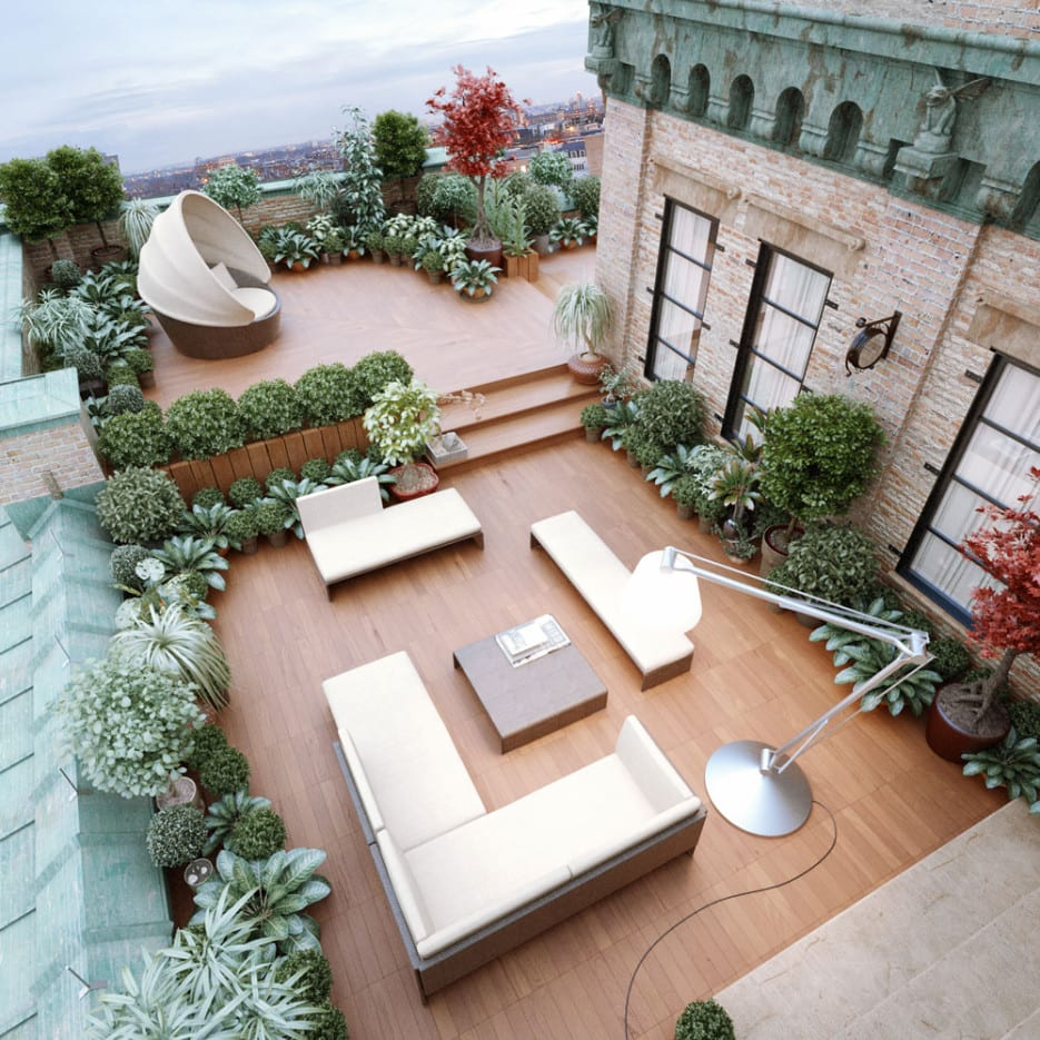 Spring fashion naht-49 cool ideas for roof terrace - fresh d.