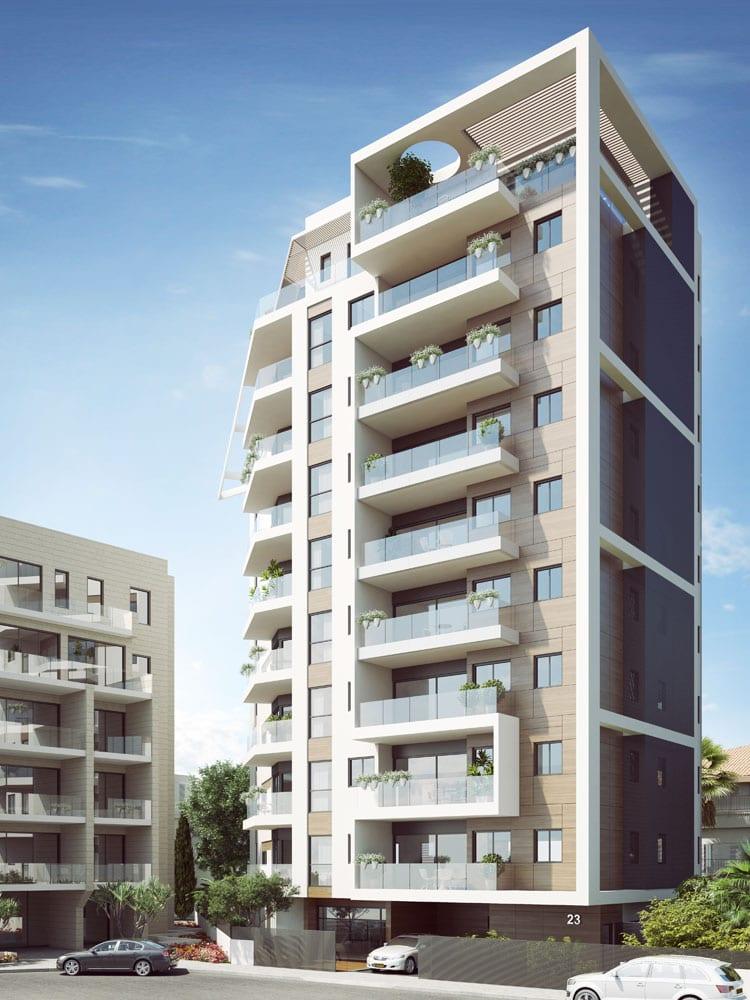 Number 23 ando studio for Residential building designer