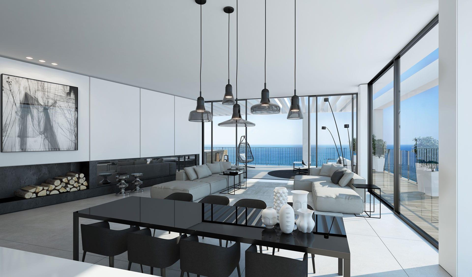 Relaxing blue ando studio - Appartement de luxe ando studio ...